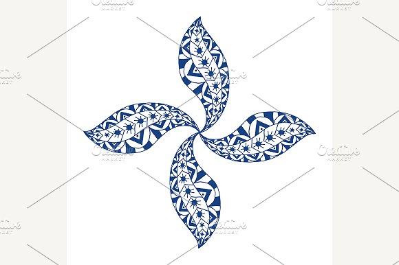 Rosette ornament. - Patterns
