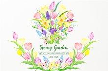 Spring Garden Flower Arrangements