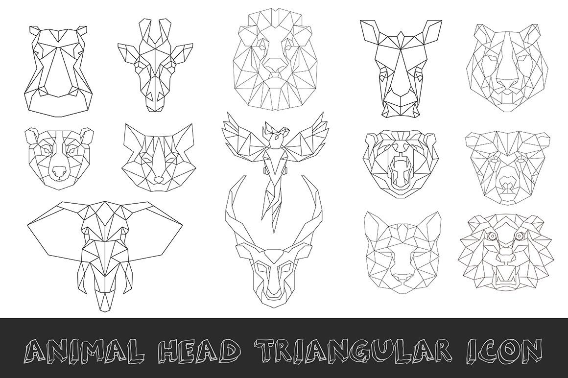 538658 Animal Low Poly Head Icon further 61551 Clipart Of A Raccoon In Black And White Royalty Free Vector Illustration By Jvpd likewise Chain Of Mountains Clip Art 414499 also Triple Spiral Symbol Clip Art 407218 also Zebra Stripes Hooves Wildlife 30771. on animal vector graphics