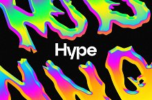 Hype - Neon Chrome Effect