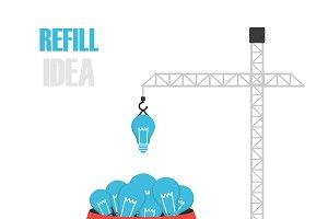 refill the idea