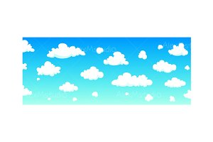 Cartoon Sky Background