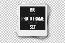 Retro Instant Photo Frame Set