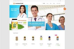 DW PharmaStore - WP eCommerce Theme