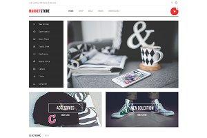 DW MarketStore - WP eCommerce Theme