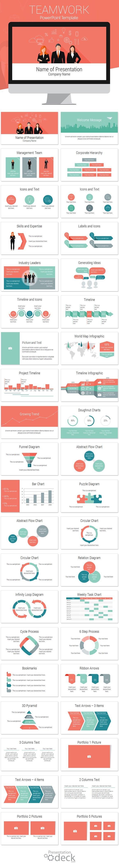 Teamwork PowerPoint Template ~ Presentation Templates ~ Creative Market