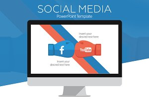 Social Media PowerPoint Infographics