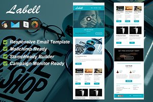 Labell - Responsive Email Template