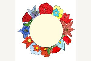 Round paper