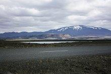 Icelandic mountain landscape