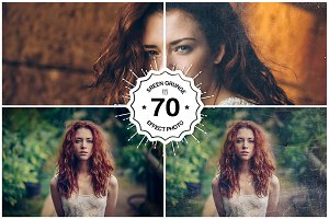 70 Screen Grunge Effect Photos