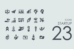 23 Startup icons