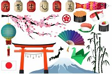 Japanese & Asian Clipart Vector, PNG