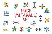Huge Vector Metaball Set