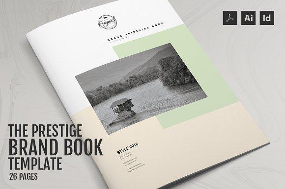 the prestige brand manual template brochures