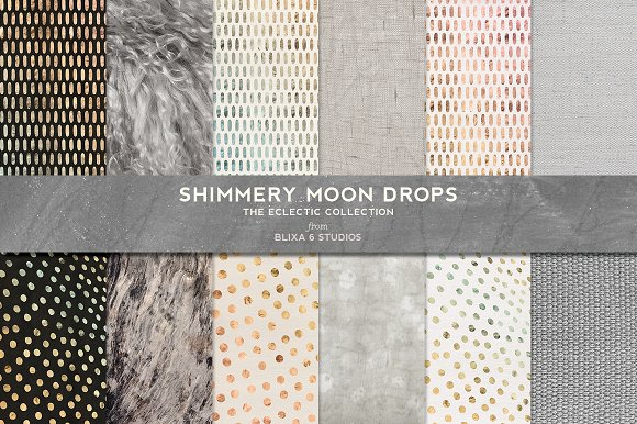 Effervescent Watercolors & Gold in Patterns - product preview 2