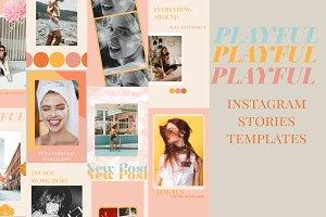 Instagram Stories Templates (x25)