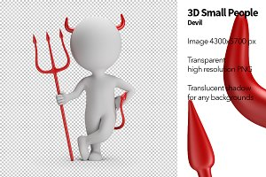 3D Small People - Devil