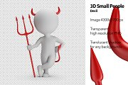3D Small People - Devil