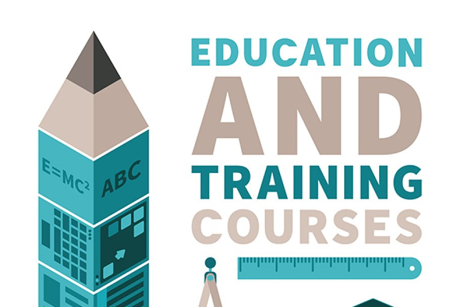 Education & training flat style in Illustrations - product preview 8