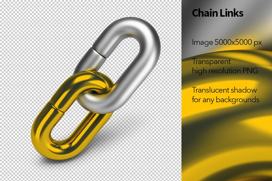 Chain Links in Objects - product preview 8