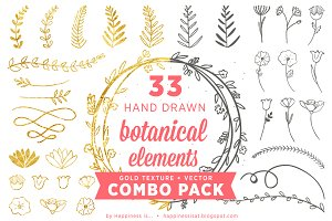 Botanical Elements Combo Pack