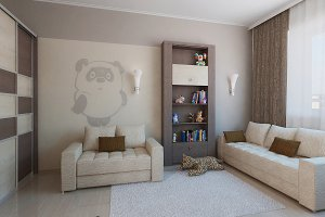Minimalist children room