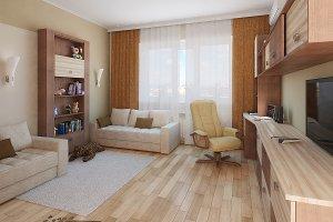 Minimalist children room