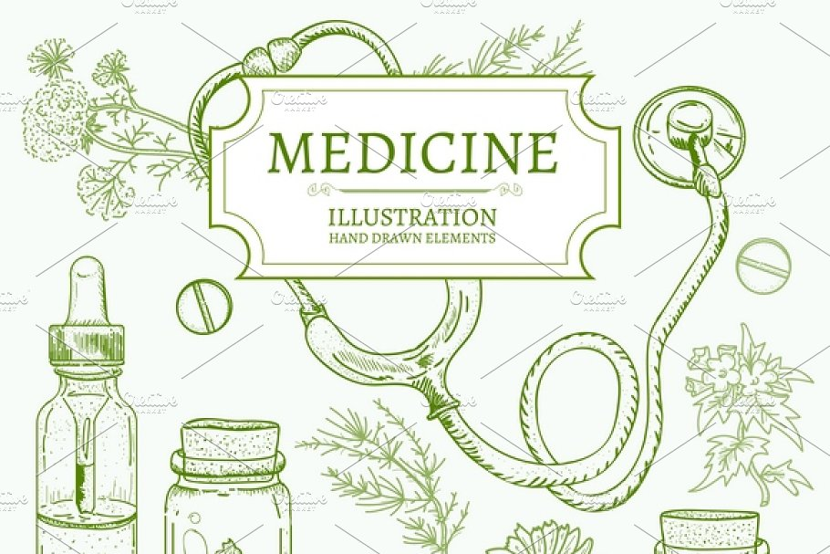 Herbal medicine in Graphics - product preview 8