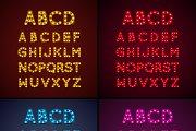 Lightbulb Letters