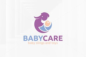 Baby Care Logo Template