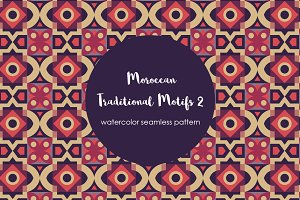 Traditional Moroccan Motif Pattern 2