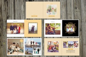 Family Album Template-V414