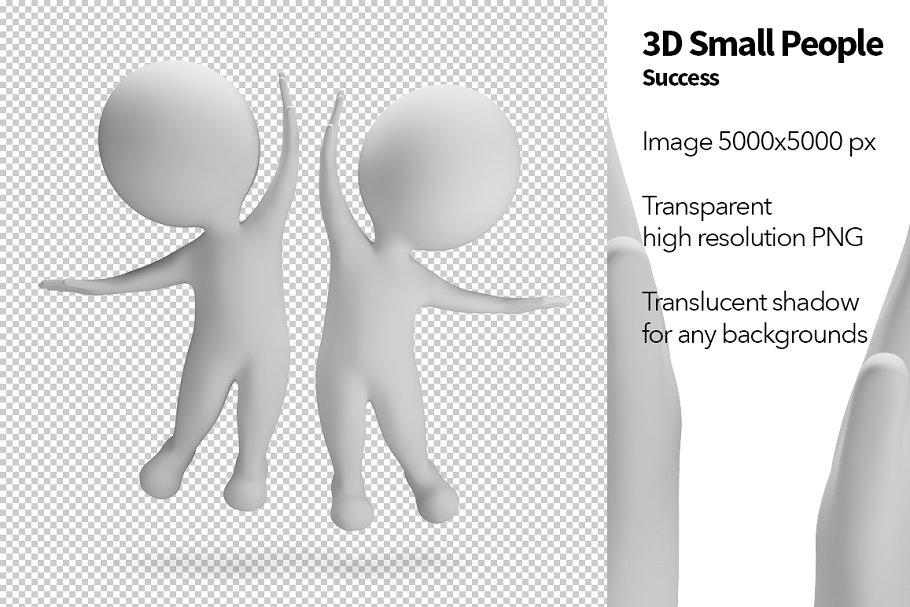 3D Small People - Success in Illustrations - product preview 8