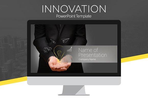innovation powerpoint template presentation templates creative