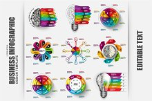 Set of Business Infographic Elements
