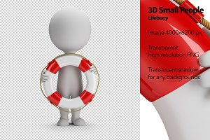 3D Small People - Lifebuoy