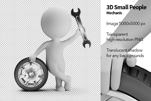 3D Small People - Mechanic