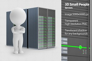 3D Small People - Servers