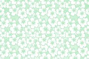Floral seamless hibiscus pattern