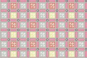 Abstract ornamental seamless pattern