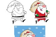 Santa Claus With Bag  Collection