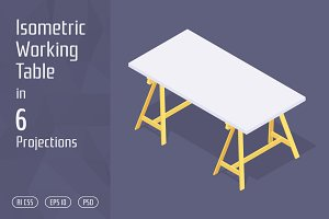 Isometric Working Table