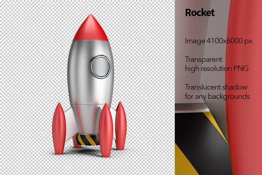 Rocket in Objects - product preview 8