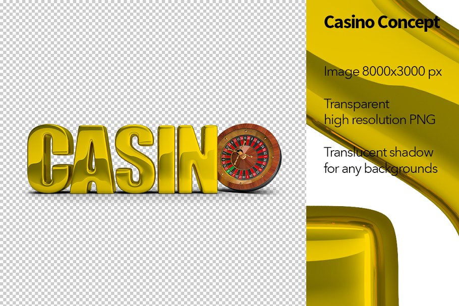 Casino Concept in Objects - product preview 8