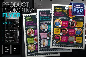 Multipurpose Product Promotion Flyer