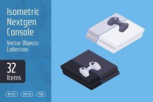 Isometric Nextgen Console