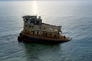 Shipwreck view
