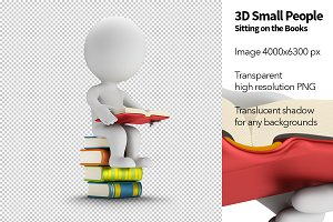 3D Small People - Books