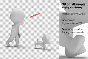 3D Small People - Playing